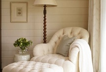 Taupe & White Interior Inspiration / by Tracy Glass
