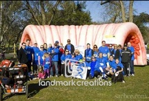 Inflatable Colons / Want to educate and raise awareness without causing alarm? A giant inflatable heart or walk-through colon eases tension about serious diseases and opens the door so you can change more lives. Learn More: http://www.landmarkcreations.com/inflatable-products-gallery/health-awareness-inflatables