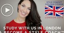 Style Coaching Institute® / Our prestigious Style Coach™ Diploma Courses will prepare you with all the skills & knowledge you need to begin a successful new career as a Certified Style Coach™. Live Diploma Courses available in the UK, Singapore, New Zealand & Australia, and Online Diploma Courses available worldwide via eLearning.