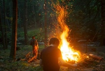 Summer / Long days, cool nights, box fans, grilling, the beach, sandals, fireflies