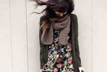 Capsule Wardrobe - Fall / Layers, knits, Muted Patterns, Legwear