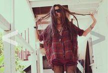 Capsule Wardrobe - Summer / Bright Colors, Light fabrics, Bohemian, Simple and Comfortable