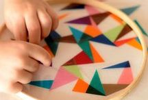 Crafts - Winter / Crafts to brighten a dreary gray afternoon, or to pass the long cold hours