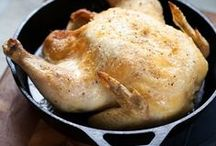 Eat: Poultry / Dinner recipes for chicken, turkey, duck, pheasant, quail, goose, etc. / by Ginger Bellerud-Corthell