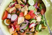 Salads / Great salad recipes, from the little light dish before the main course to the salad that replaces a full meal.
