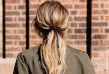 blarejune:ponytails&bows