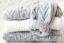 blarejune:cozy knits