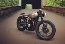 Bikes / Project inspiration...cafe racers, brats, street trackers, scramblers...