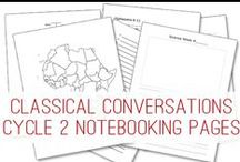 CC Cycle 3 / Classical Conversations, Cycle 3 Resources / by Shira Jones