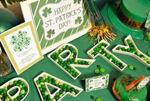 Luck O' the Irish - St. Patrick's Day Party / Recipes, crafts, activities, and party planning ideas to throw the LUCKIEST party ever!