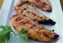 Grillowane mięsa, warzywa, ryby i owoce