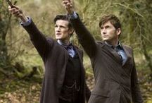 Doctor Who / For all Doctor Who fans.  I grew up with the Doctor in London!! / by Trisha Posner
