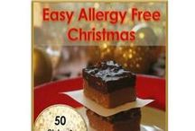 Christmas  eBook / Every recipe is - Gluten Free, Nut Free, Dairy Free, Egg Free, Soy Free, Peanut Free, Tree nut Free, Wheat Free, Fish Free, Shellfish Free . Most also sugar free 50 delicious allergy friendly recipes for Christmas. Easy to find ingredients. www.allergysave.com