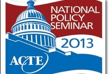 National Policy Seminar / Pinboard for ACTE's National Policy Seminar. Join us in Arlington, Virginia, March 4-6 to climb the Hill and tell Congress that CTE works! / by ACTE