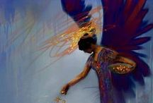 angels / by Rachel Guillotte