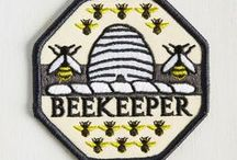 Beekeeping / bees are friends.