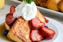 Wake Up it's Breakfast / Breakfast & brunch food / by Barbara Dowd-Peters