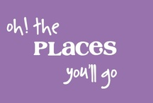 oh, the places you'll go / Dream Locations / by Emma Crochets