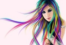 Hairstyles and Colours
