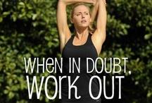 Work it girl!  / by Courtney Mueller
