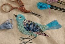 Inspiration   Embroidery and thread art