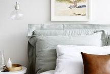BEDROOMS / decoration inspiration for your bedroom