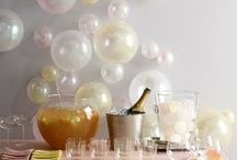 Entertaining - Party Food, Drinks & Decor / Ideas for party decor, menus, themes and favors...everything you need to throw a great soiree. #partyplanning #partyfood #partydecor #entertaining