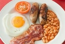 The English (Breakfast) / Learn why the best breakfast is the English breakfast - contributed by QPrs. / by Quite Peckish