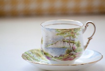 Limey Tea Cups & Things / We like tea, yes. We also like a good cup and tea cosy... / by Quite Peckish