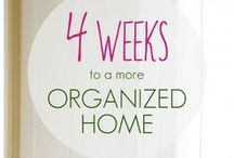 Organizing / orgamizing your home and life