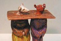 Philadelphia Ceramics / Philadelphia ceramics and pottery are a vital part of the art scene.  Ceramics may be sculptural yet utilitarian.