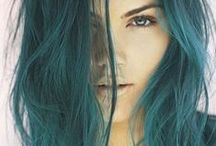 Colorful Hair and Dreads / A collection of awesome, colorful hairstyles and cool dreads.