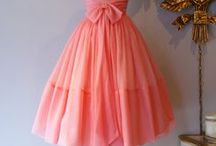 Prom inspiration / vintage or vintage-looking prom gowns
