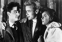 Rebel Without A Cause / James Dean. Natalie Wood. Sal Mineo.