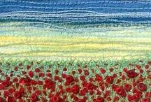Textile Art / Textile art to admire and inspire.
