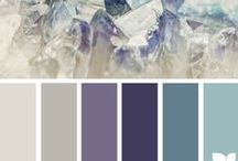 Color Palettes / Beautiful color inspirations for your wedding, home and more.
