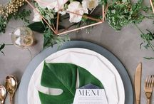 Table Settings/Tablescapes / Fabulous place setting ideas, party decor ideas, tablescapes.