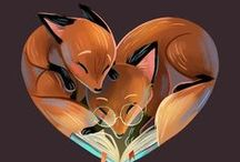 ✧ ILLUSTRATIONS - Foxes ✧