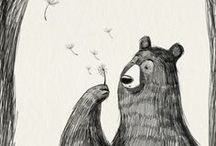 ✧ ILLUSTRATIONS - Bears ✧