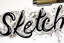 sketch / pure creativity / by Pam Roelofs