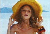 Luxe Beachwear Style / cover up in style...