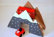 Kids Indoor activities / Lots of indoor ideas to keep the kids entertained.