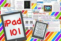 "my ""i""ddiction to iPads / by Mary Amoson"