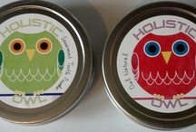 Holistic Owl Etsy Shop / Products made with all natural and organic products. I call it my NaturOwl line.  / by Lisa Gallarini