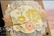 SU! / Stampin' Up! Cards and inspiration from my favorite company in crafting! / by Gaylyn