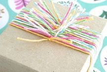 DIY:: Gift Wrap Ideas & Card Making / Ideas for wrapping and/or presenting #gifts, or tutorials/ideas for creating cards, packaging, etc. / by Rachel Ramey (Titus 2 Homemaker)