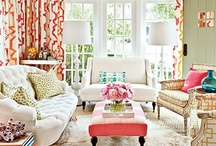 Inspiring Spaces: Living / by Kimberly Bunnell