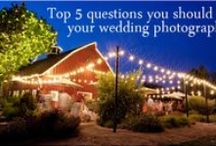 All things Wedding! / General wedding decor, helpful articles about wedding photography, & wedding photo inspiration.