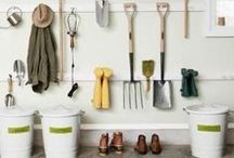 organize GARAGES & SHEDS / Home and Garden Organization & Storage Ideas I Love! / by AmyeToTheRescue! Professional Organizer