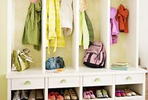 organize ENTRY & MUDROOM / Home Organization & Storage Ideas I Love! / by AmyeToTheRescue! Professional Organizer